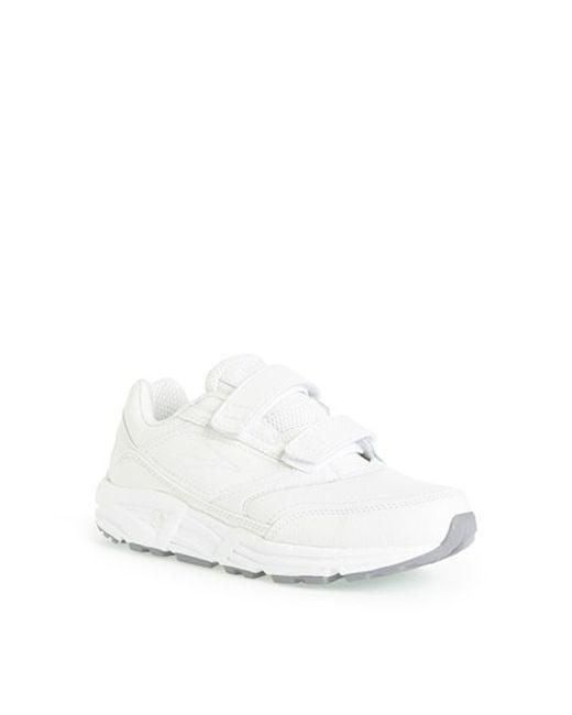 Brooks   White 'addiction' Walking Shoe   Lyst