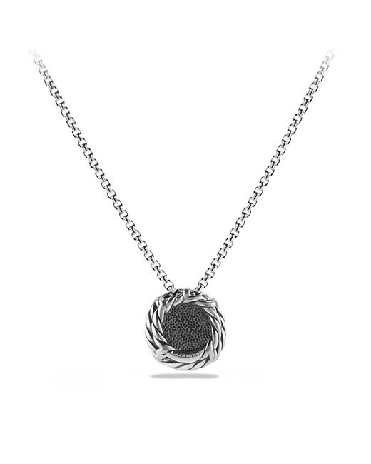 David Yurman | Chatelaine Pendant Necklace With Black Onyx | Lyst