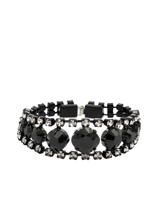 Helene Zubeldia | Black Two-toned Crystal Earrings | Lyst