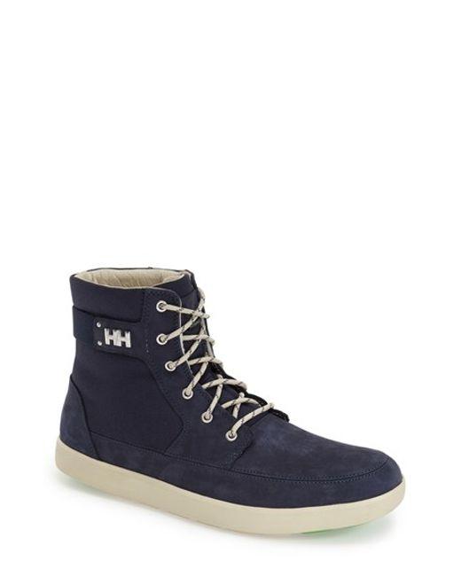 Helly Hansen | Blue 'stockholm' Waterproof High Top Sneaker for Men | Lyst