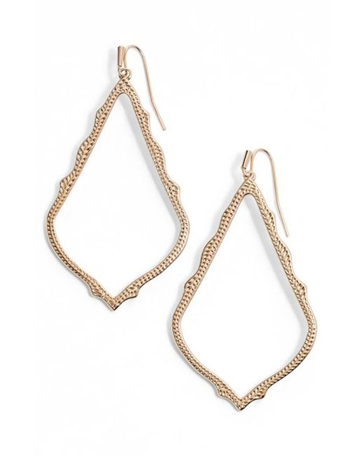 Kendra Scott | Pink 'mystic Bazaar - Sophee' Drop Earrings | Lyst