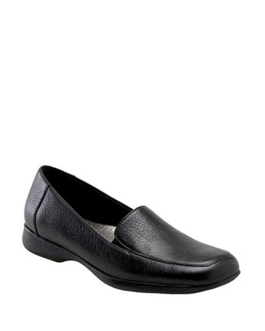 Trotters   Black 'jenn' Loafer   Lyst