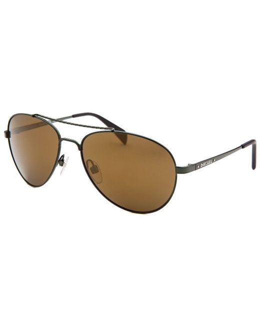 e482369bca3 Diesel Mens Aviator Sunglasses