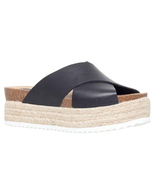 Carvela Kurt Geiger | Black Kool Flatform Sandals | Lyst