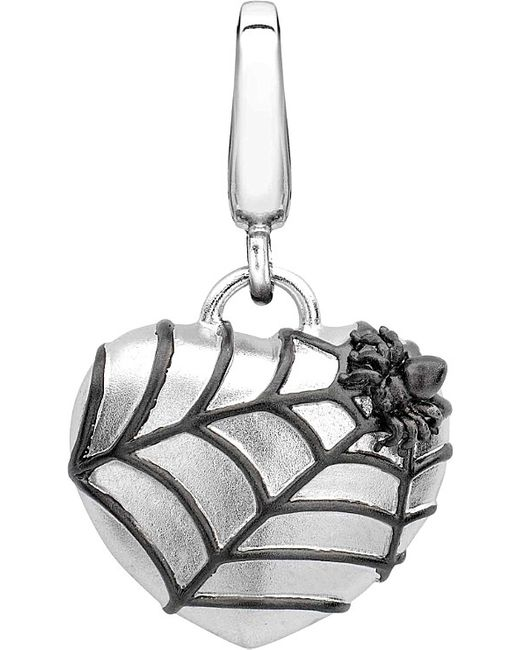 Theo Fennell | Metallic Alias Spider Web Sterling Silver Charm | Lyst
