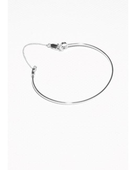 & Other Stories | Metallic Bangle Bracelet | Lyst