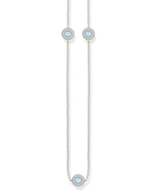 Thomas Sabo | Metallic Light Of Luna Milky Aqua Long Necklace | Lyst