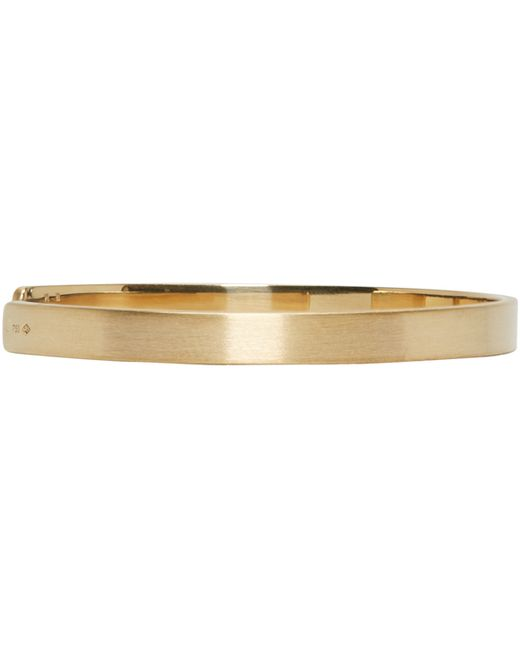 Le Gramme | Metallic Gold Le 15 Grammes Cuff | Lyst