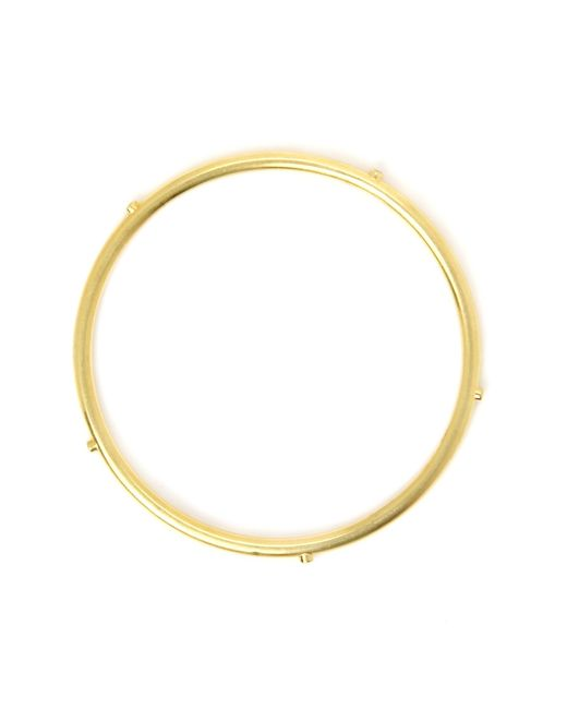 Sanjay Kasliwal | Metallic Sapphire 18-K Gold Bangle | Lyst