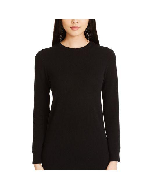 Polo Ralph Lauren | Black Cashmere Sweater Dress | Lyst