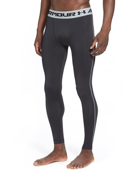 Under Armour | Black Heatgear Compression Leggings for Men | Lyst