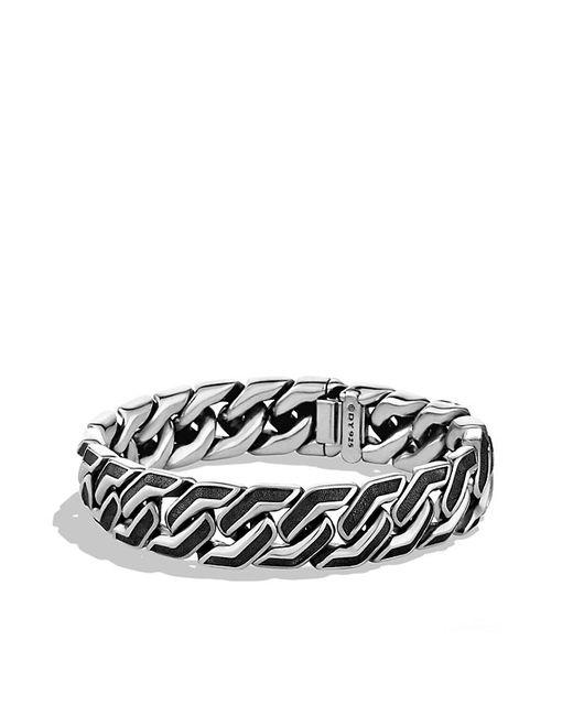 David Yurman   Metallic Curb Chain Bracelet for Men   Lyst