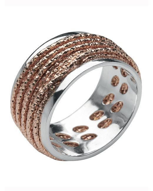 Links of London | Pink Celeste Rose Gold Wrap Ring | Lyst
