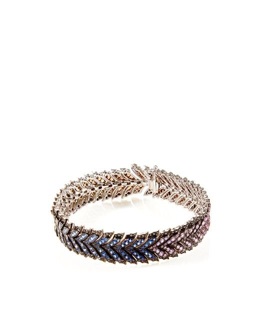 Stephen Webster | Multicolor Les Dents De La Mer Metallic Lace Bracelet | Lyst