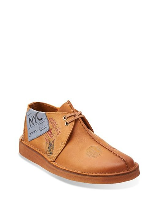 Clarks | Brown Clarks Originals 'desert - Trek' Oxford for Men | Lyst