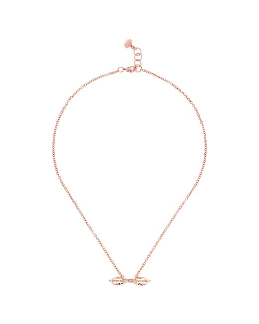 Ted Baker | Pink Idiana Love Letter Collar Necklace | Lyst