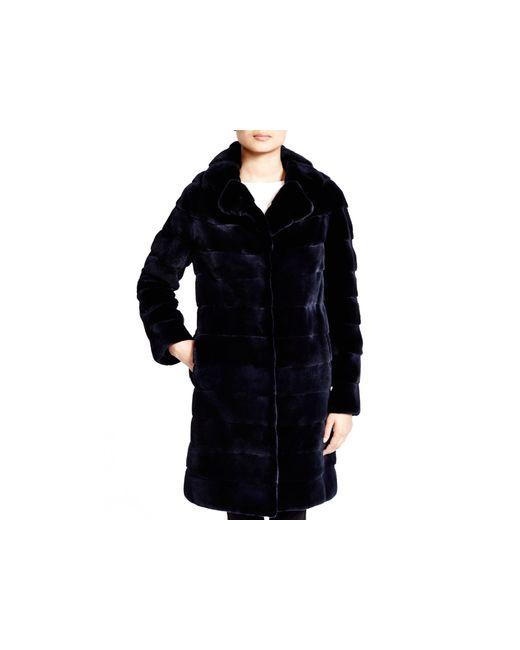 Maximilian | Blue Maximilian Mink Coat - Bloomingdale's Exclusive | Lyst