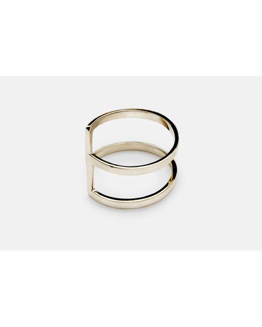 Gabriela Artigas | Metallic Cage Ring | Lyst
