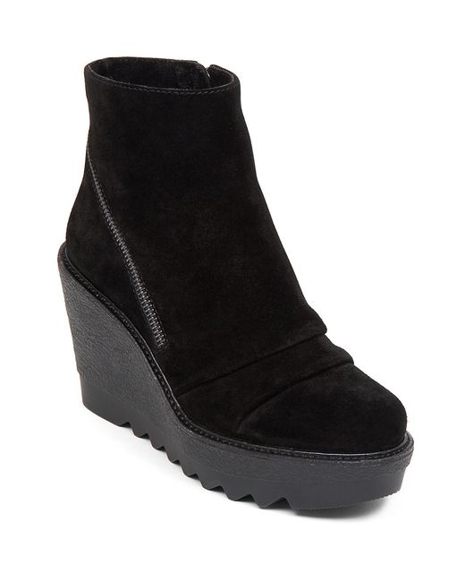 Vince Camuto | Black Dasan Wedge Bootie | Lyst