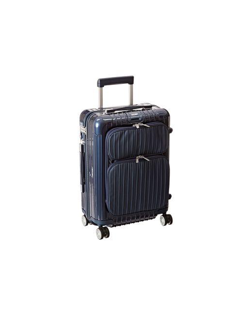 Rimowa Salsa Deluxe Hybrid 21 Cabin Multiwheel In Blue