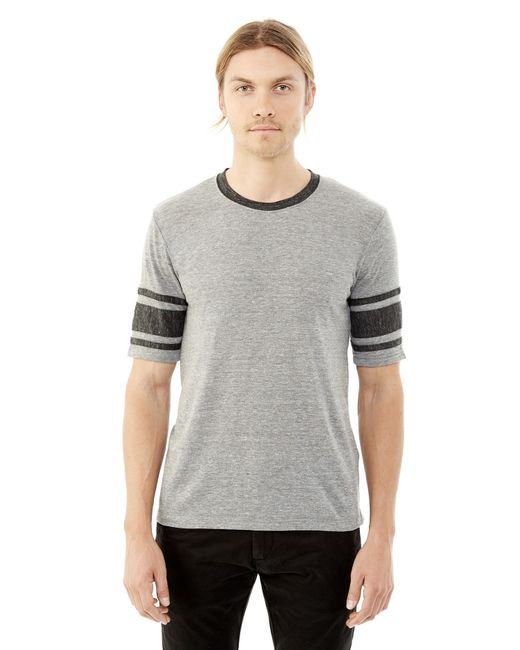 Alternative Apparel | Gray Touchdown Eco-jersey T-shirt for Men | Lyst