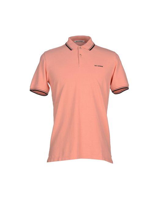 Ben Sherman Polo Shirt In Pink For Men Salmon Pink
