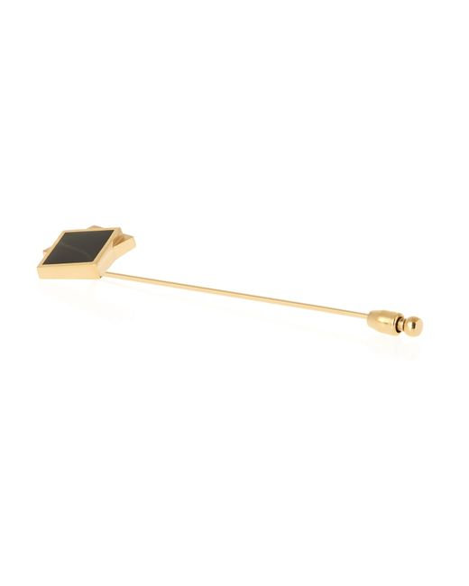 Lanvin | Metallic Gold-plated Tie Pin for Men | Lyst