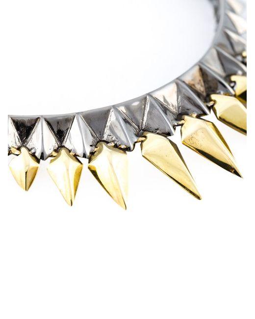 Stephen Webster | Metallic Studded Hoop Earrings | Lyst