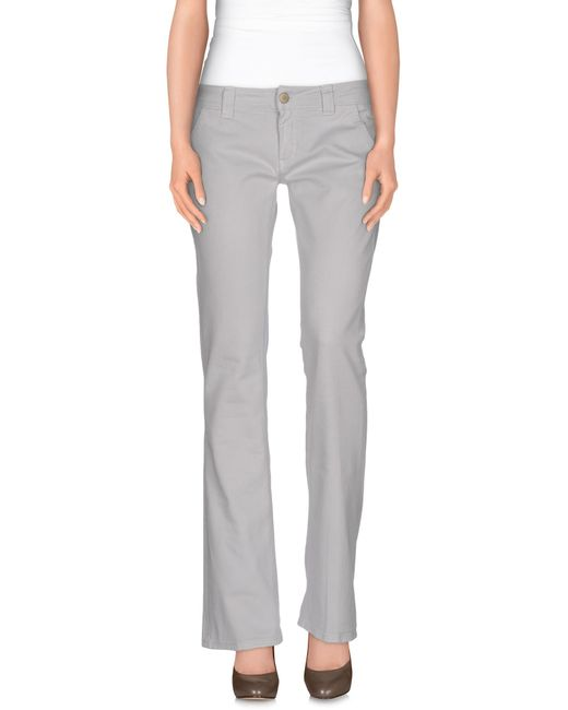 Dondup | Gray Casual Pants | Lyst