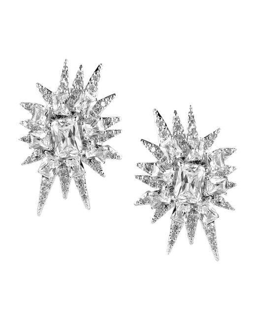 CZ by Kenneth Jay Lane | Metallic Earrings | Lyst