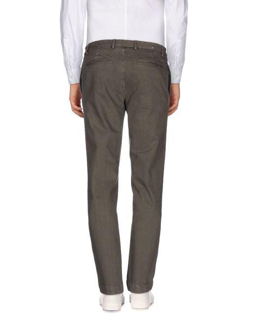 Alain   Gray Denim Trousers for Men   Lyst