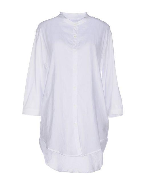 Majestic Filatures | White Shirt | Lyst