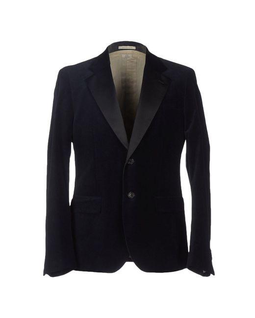 Atelier scotch blazer in blue for men dark blue save for Atelier maison scotch