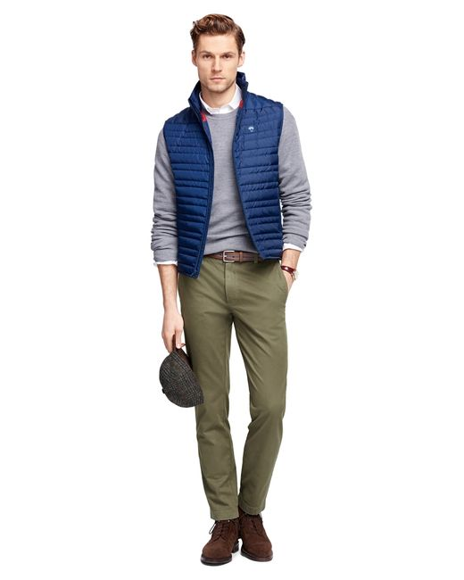 Brooks Brothers | Green Garment-dyed Chinos for Men | Lyst