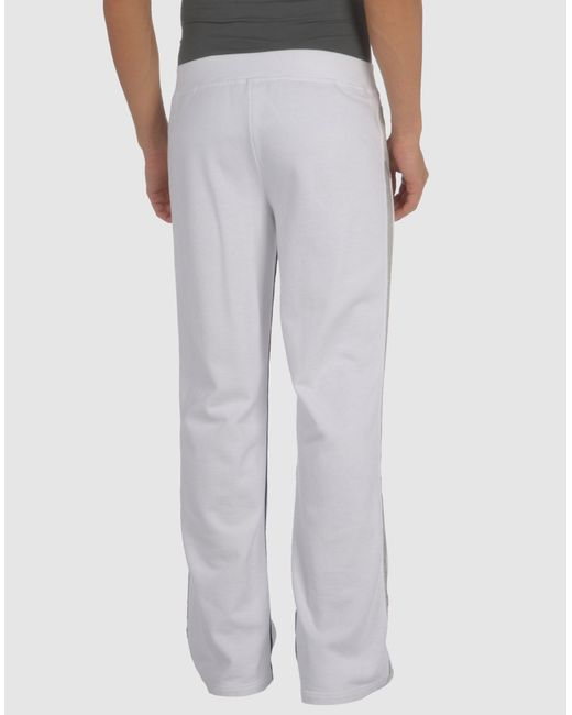 Marc Cain Sweat Pants In White For Men