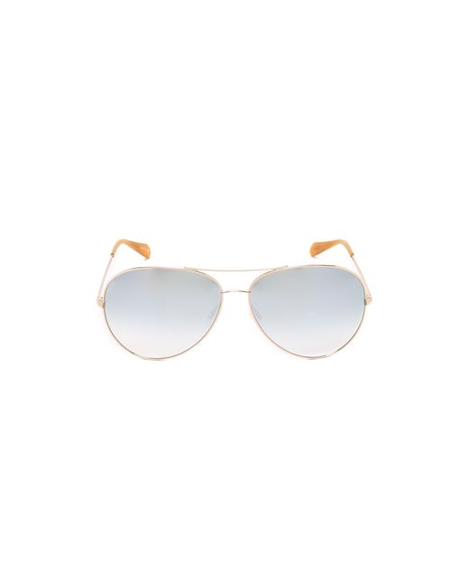 Oliver Peoples | Metallic Sayer Sunglasses | Lyst