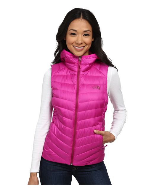 The North Face | Pink Tonnerro Hooded Vest | Lyst