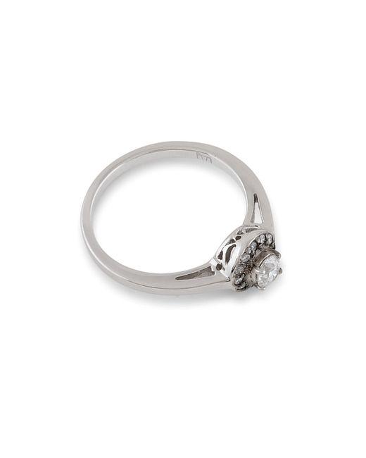 Anna Sheffield | Metallic Tiny Round Rosette Ring | Lyst