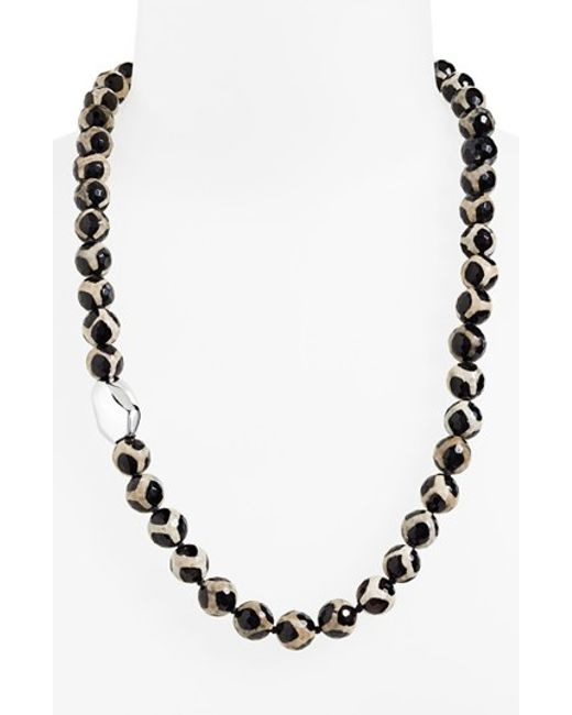 Simon Sebbag | Metallic 'safari' Beaded Necklace | Lyst