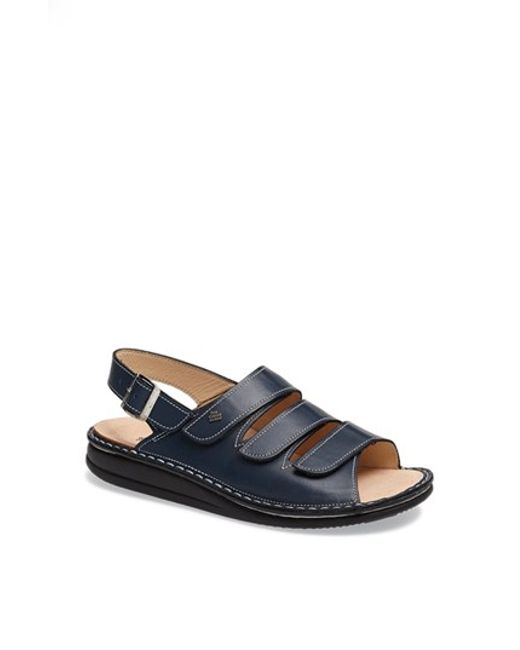 Finn Comfort | Blue 'sylt' Sandal | Lyst