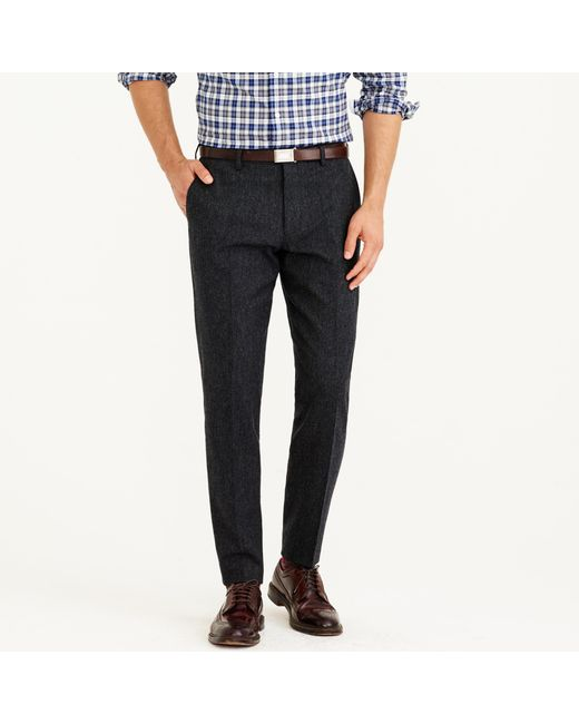 J.Crew | Gray Ludlow Suit Pant In English Donegal Tweed for Men | Lyst