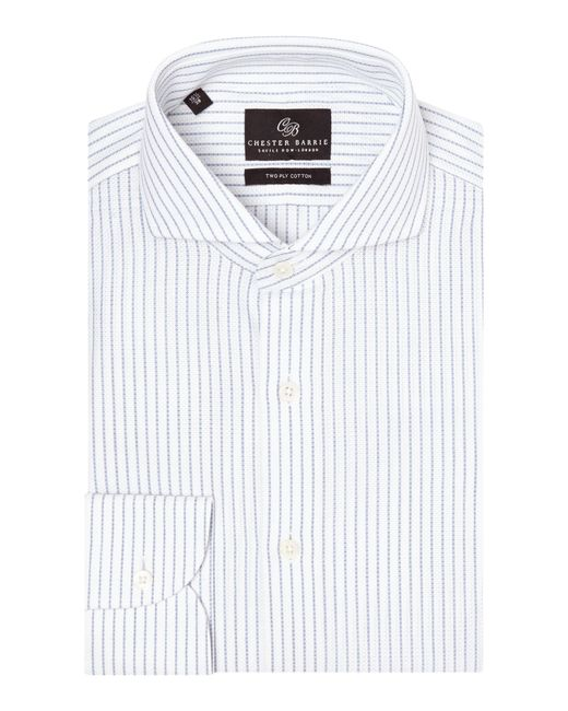 Chester Barrie | White Tailored Fit Cutaway Collar Formal Shirt for Men | Lyst