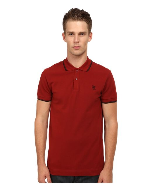McQ | Red Polo for Men | Lyst