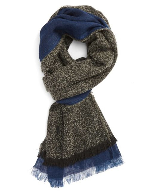 Polo Ralph Lauren | Gray Reversible Scarf for Men | Lyst