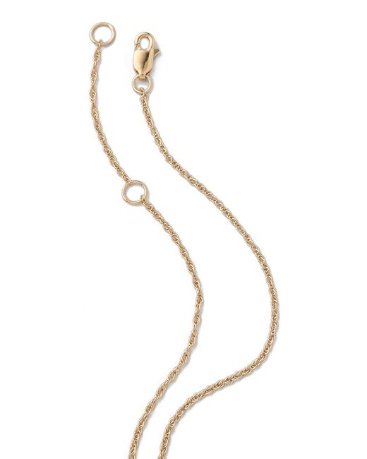 Jennifer Zeuner | Metallic Horizontal Bar Necklace With Diamond | Lyst