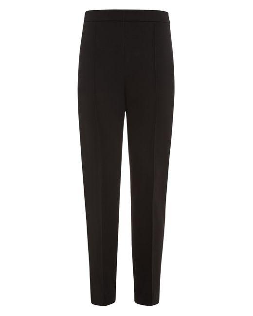 Jaeger | Black Ponte Slim Leg Trousers | Lyst