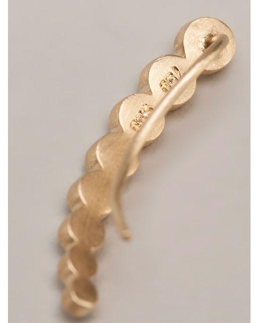 Sophie Bille Brahe | 18kt Yellow Gold 'croissant De Lune' Ear Cuff | Lyst