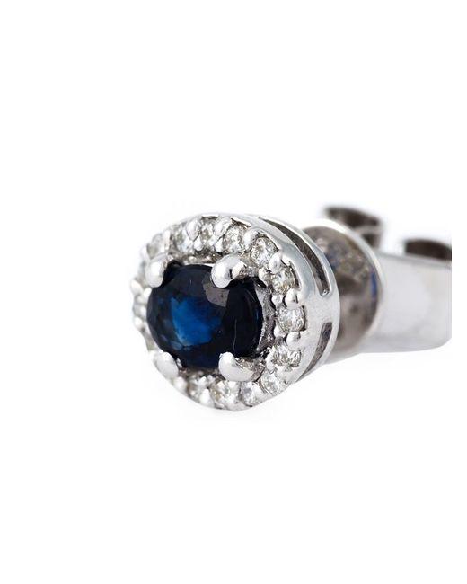Wouters & Hendrix   Blue Sapphire Stud Earring   Lyst