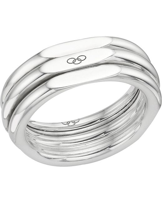 Links of London | Metallic 20/20 Classic Sterling Silver Ring | Lyst