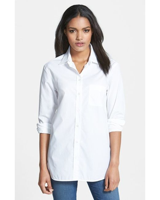 Equipment | White 'kenton' Cotton Shirt | Lyst